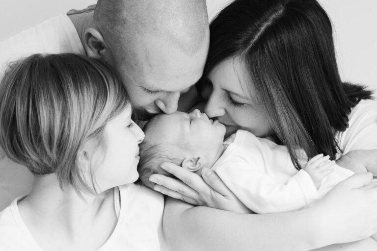 Fotografiranje novorojenčka na domu, Celje